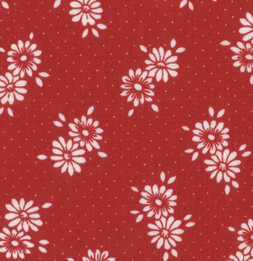 Flats Blossom Dots Rouge