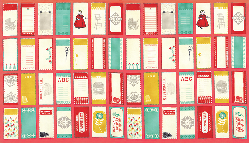 MODA; Baby Jane - Quilt Labels