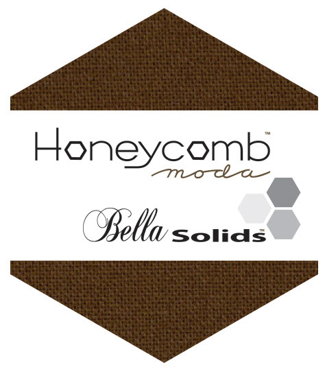 Bella Solids Honey Comb Brown