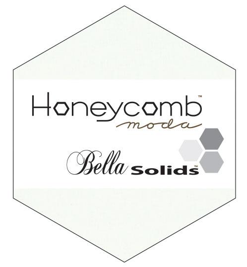 Bella Solids Honey Comb White