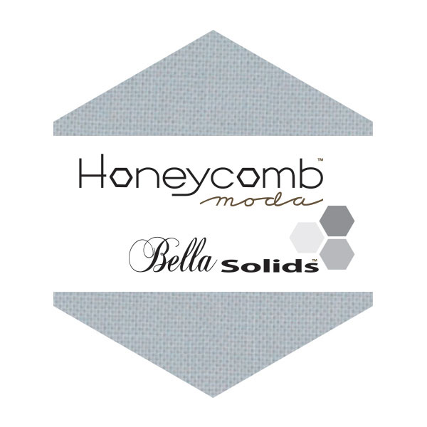 Bella Solids Honey Comb Silver