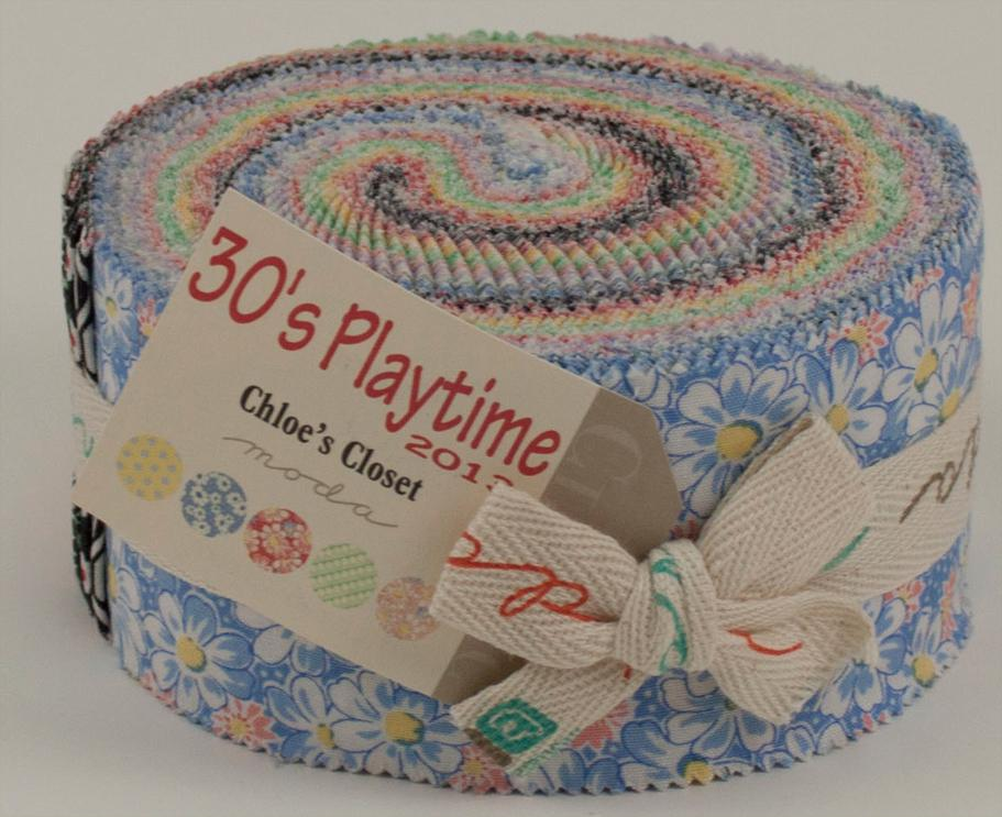30s Playtime 2013 Jelly Roll - Moda - Chloes Closet