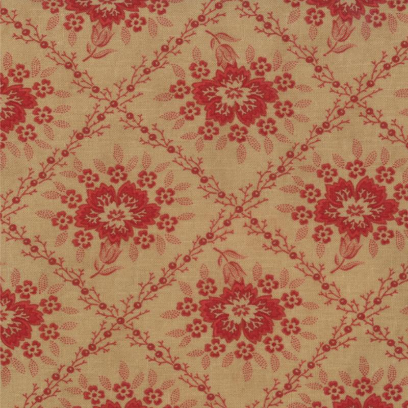Midwinter Reds by Polly Minick / Laurie Simpson for Moda Fabric ~14761 16 ~
