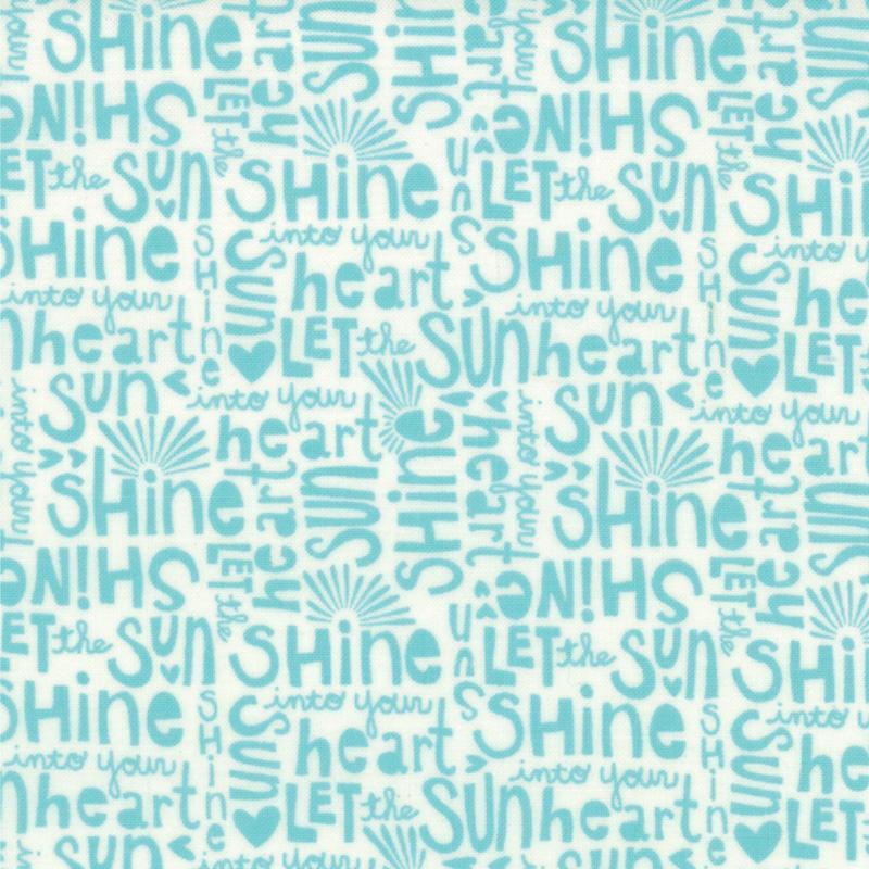 Sunnyside Shine Vapor Shade yardage