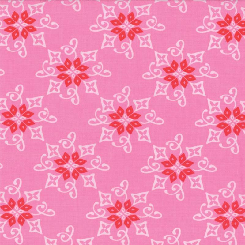 Item#9262 - Daydreams Reflection Rose - Moda - Kate Spain