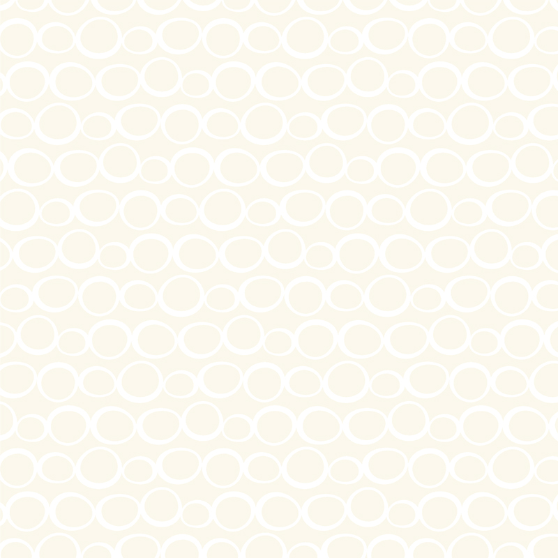 Muslin Mates Bubbles White