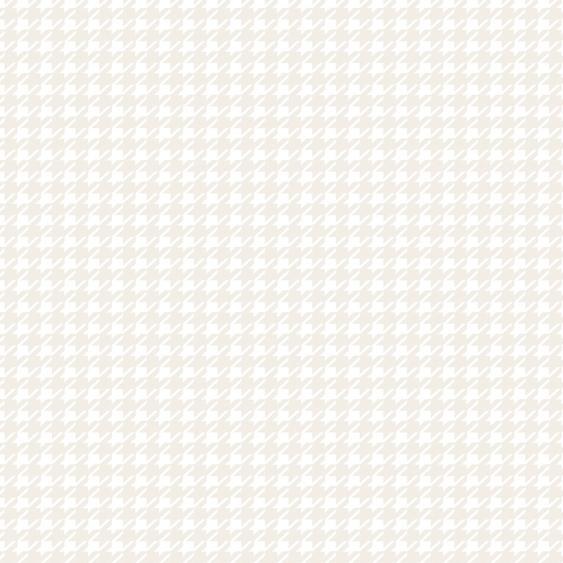 Muslin Mates Houndstooth White