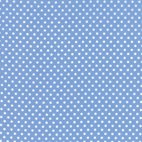 Dottie Small Dots Sky Blue