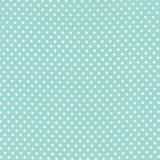 Dottie Small Dots Aqua