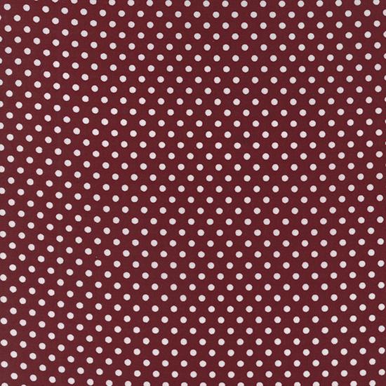 Dottie Small Dots Burgundy