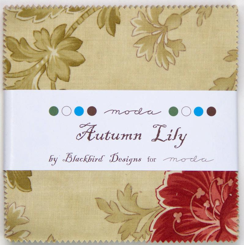 Autumn Lily Charm Pack
