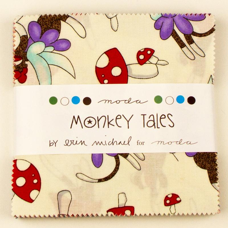 Monkey Tales Charm Pack