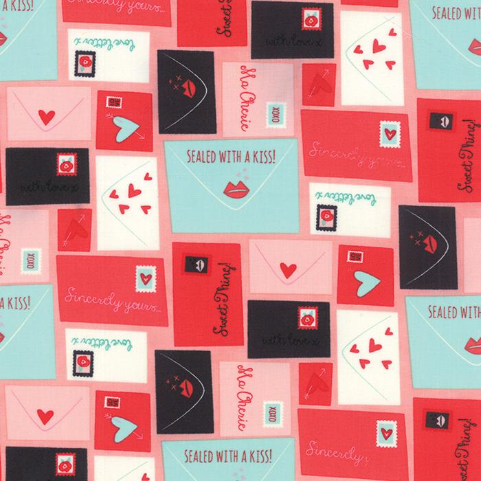 Kiss Kiss Love Letters Blush 35250 12