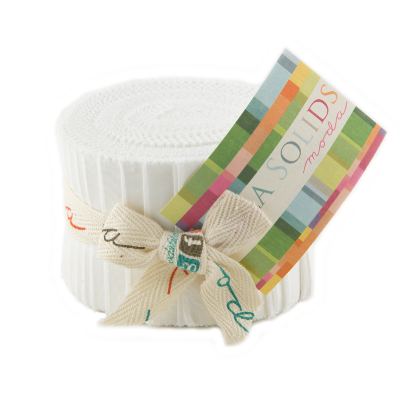 Moda Bella Solids Junior Jelly Roll 9900JJR 98