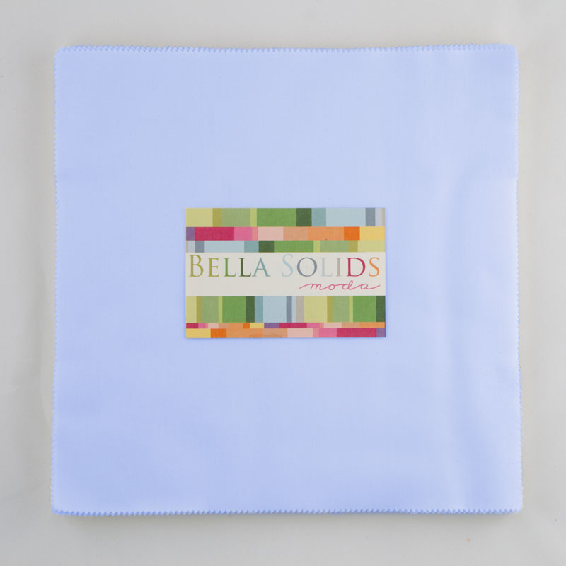 Bella Solids Junior Layer Cake Baby Blue