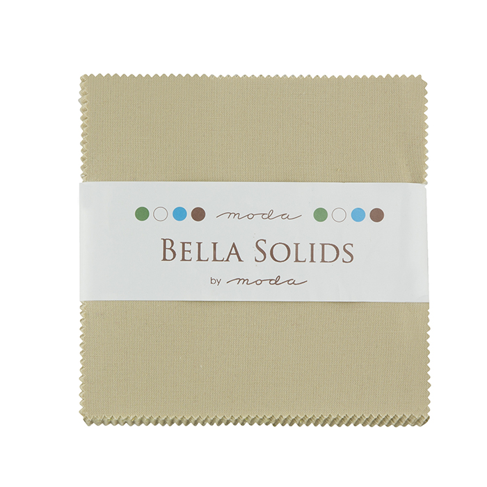 9900PP 13 Bella Solids Charm Pack Tan