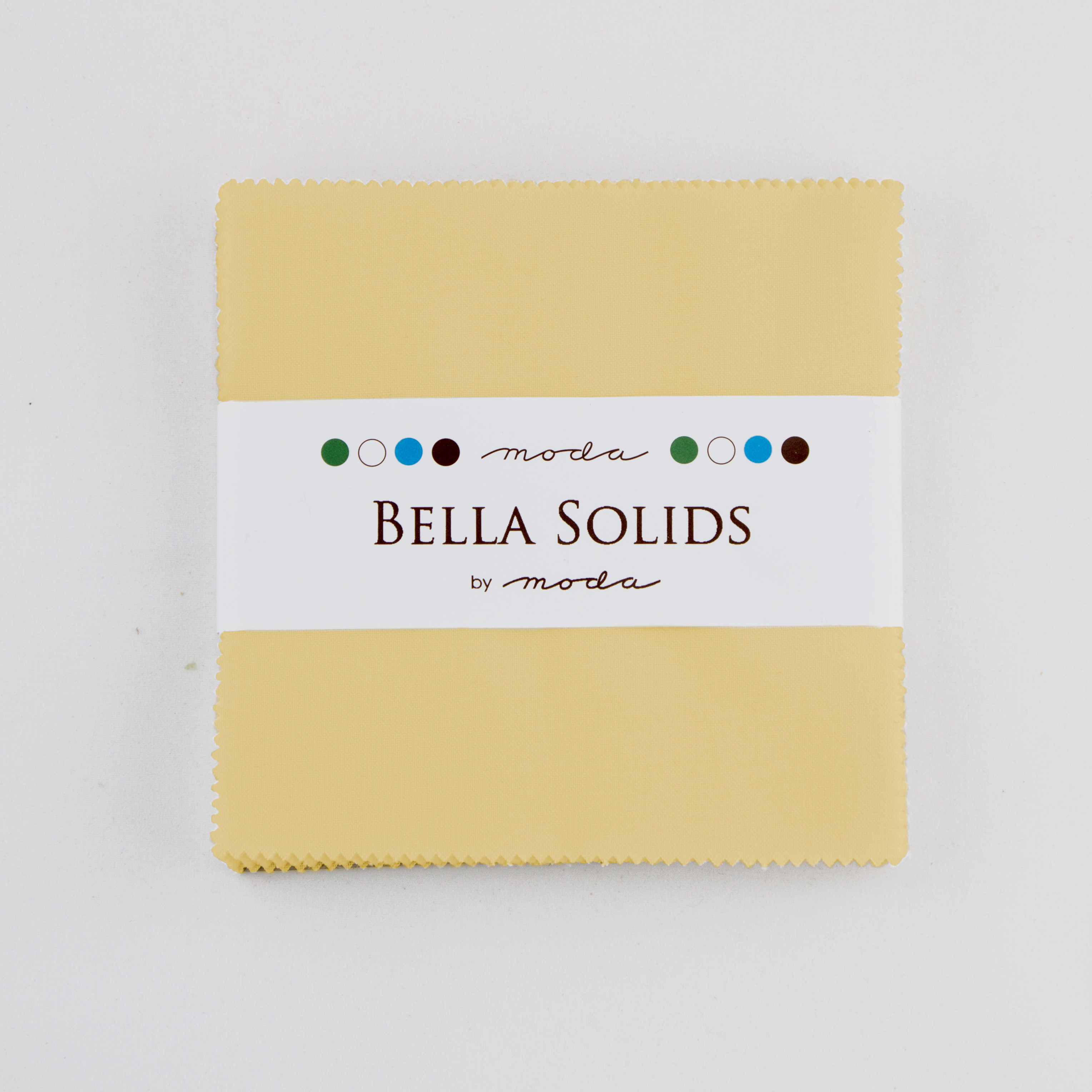 Bella Solids Charm Pack Parchme