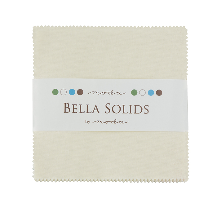 Bella Solids Charm Pack Ivory