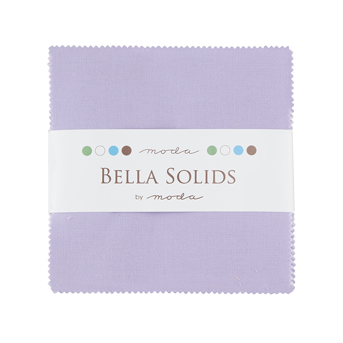 Bella Solids Charm Pack Lilac