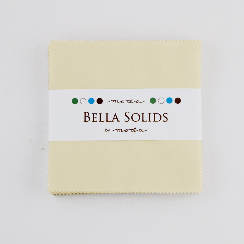 Bella Solids Charm Pack Fig Tre