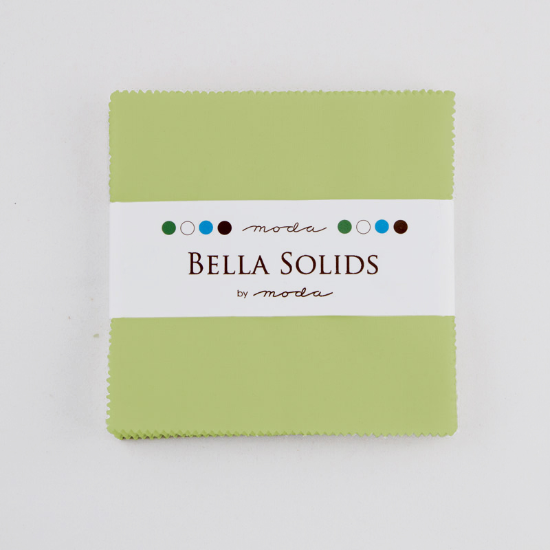 Bella Solids Charm Pack Clover