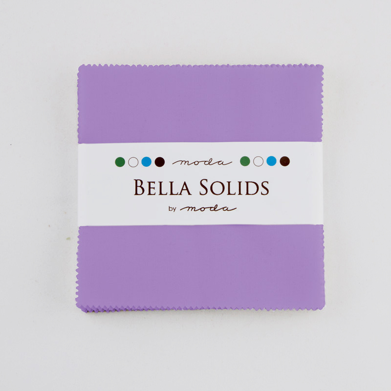 Bella Solids Charm Pack Hyacinth
