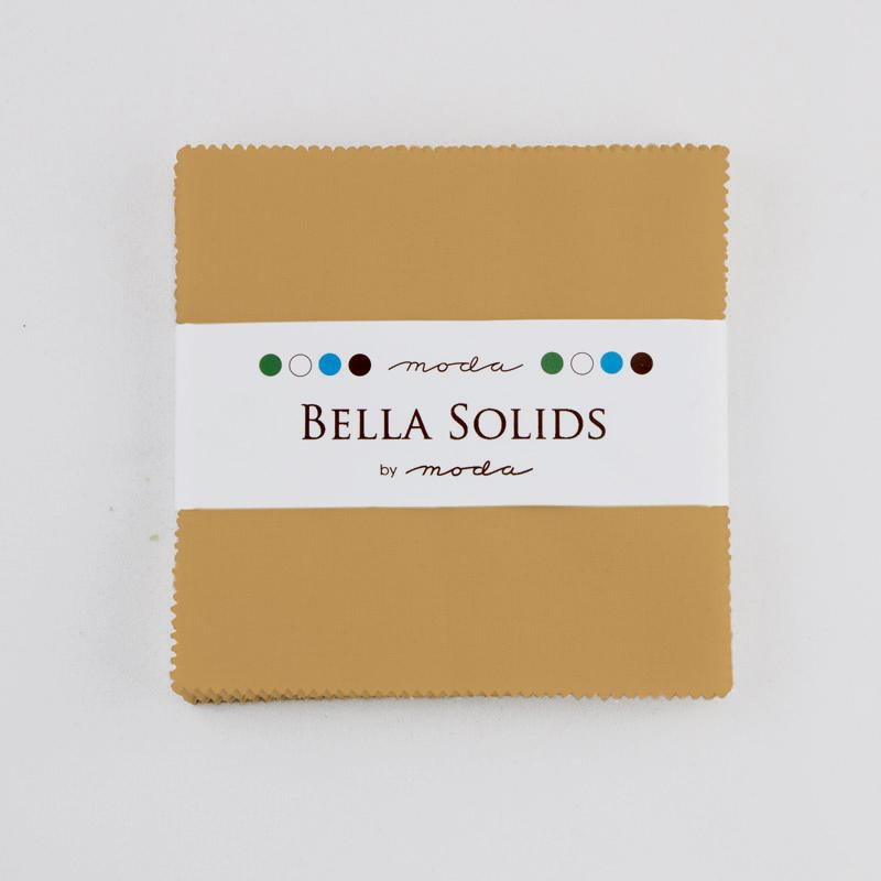 Bella Solids Charm Pack Hay