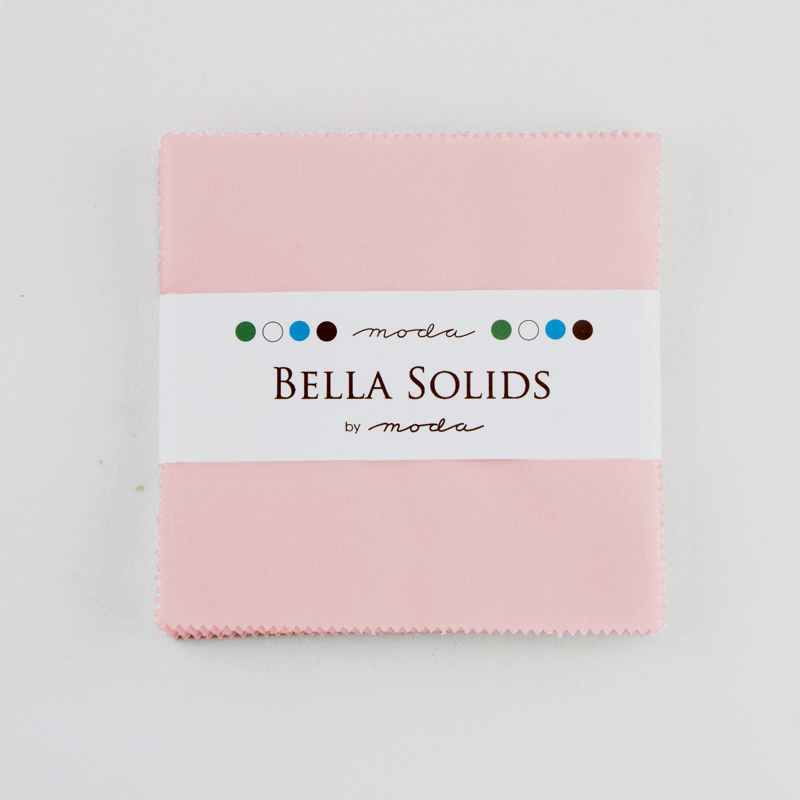 Bella Solids Charm Pack Sisters Pink
