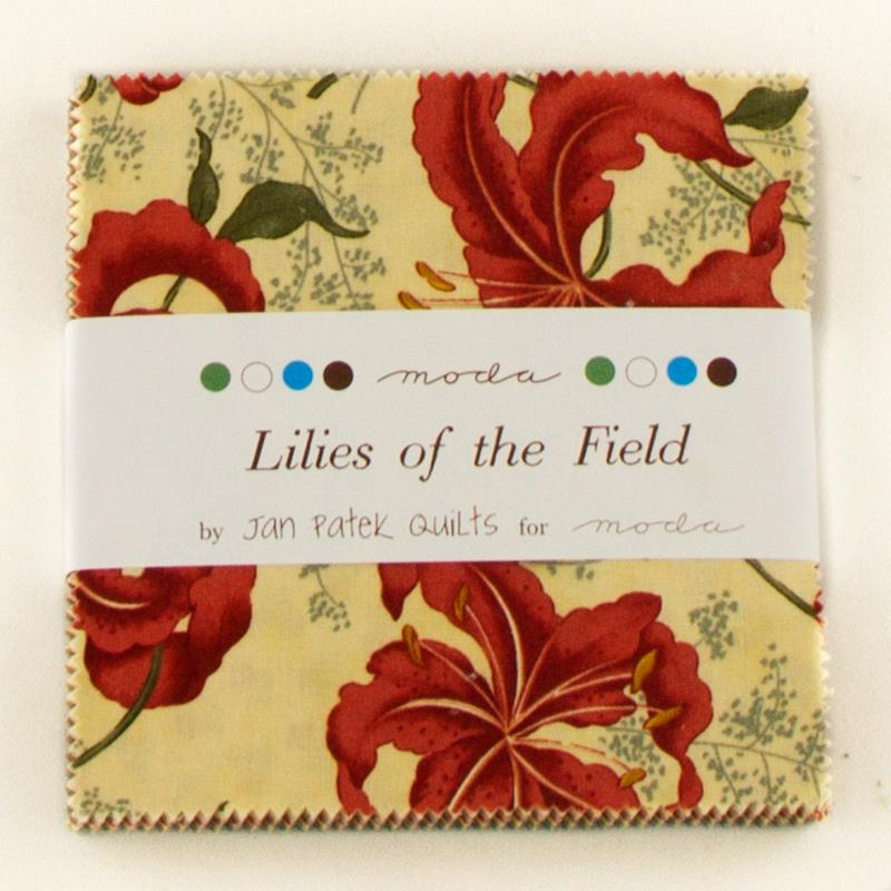 Lilies Of The Field Charm Pack