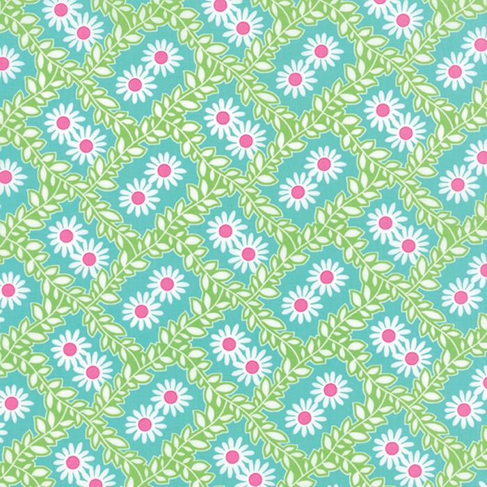 Bandana Tranquil Turquoise Floral