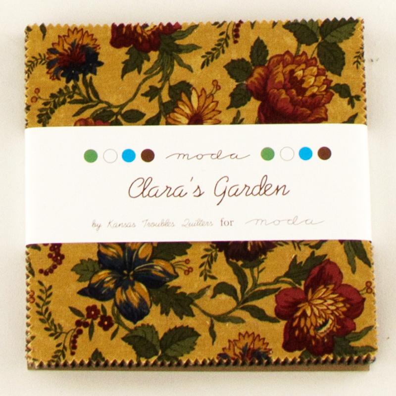 Claras Garden Charm Pack