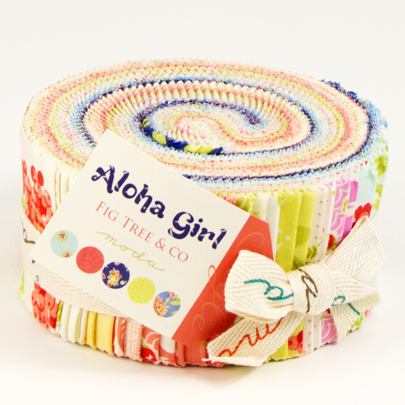 Aloha Girl Jelly Roll 2.5 inch - Fig Tree and Co. - Moda