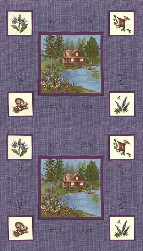 Lady Slipper Lodge Pan Purple 6580 18