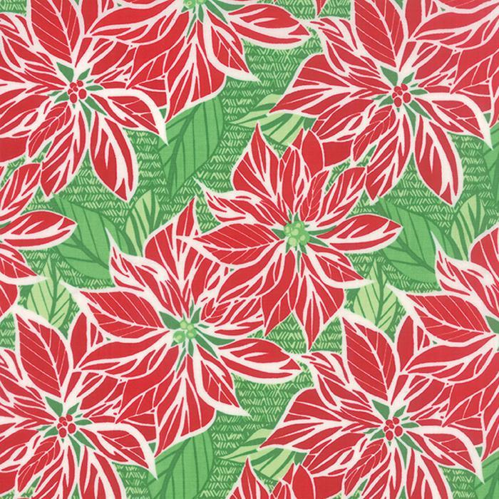 Jingle Poinsettia Dark Cedar