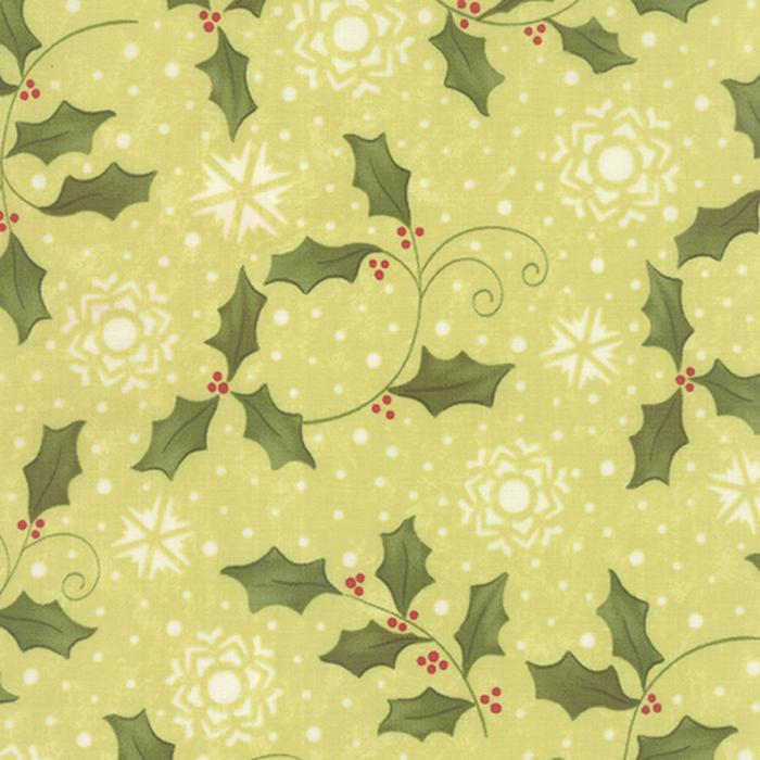 Very Merry Holly Light Green
