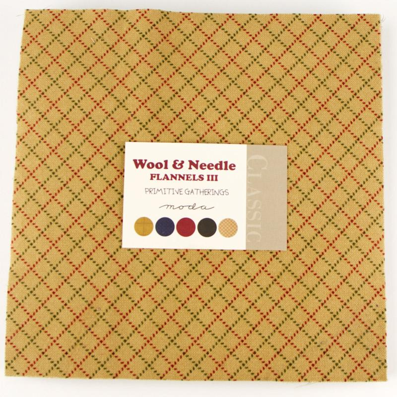 Wool Needle Fla III Layer Cake
