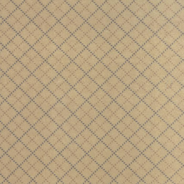 Wool Needle III Tan Blue