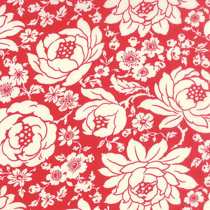 Hello Darling Red Lg White Flowers