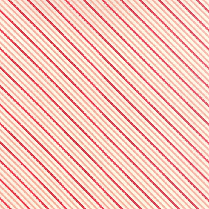 Hello Darling Coral Red Stripes