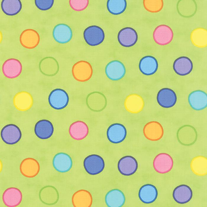 Dot Dot Dash Multi Green