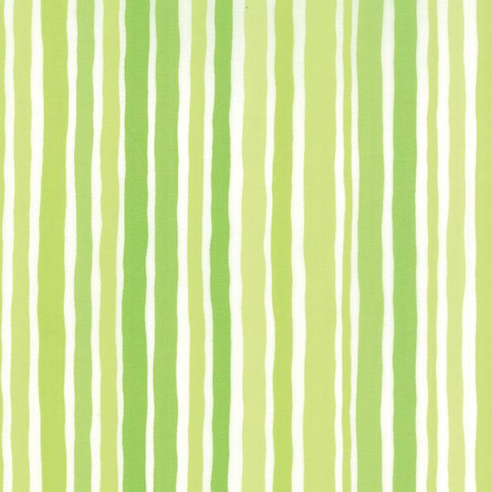 DOT.DOT.DASH-! GREEN STRIPE