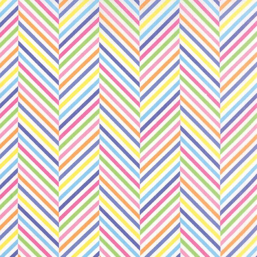 Dot Dot Dash Rainbow Stripes Angle