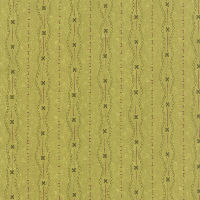 Prints Charming Olive by Moda 17844 15