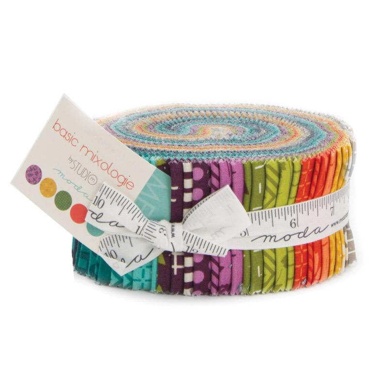 Basic Mixologie Jelly Roll - Studio M - Moda