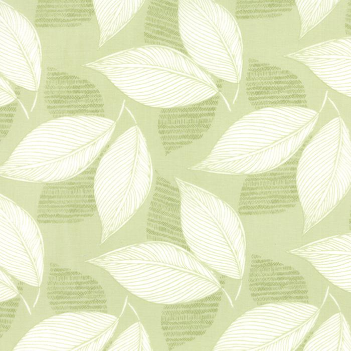 2723 18 Light Green Aria Leaflet Foliage Moda