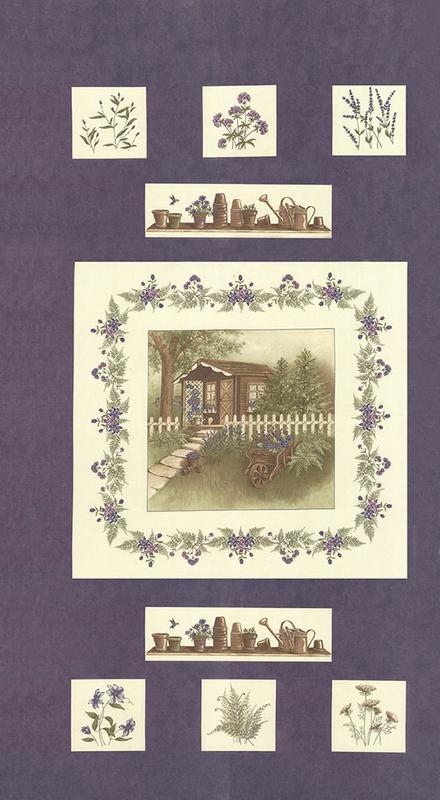 HOLLY TAYLOR - THE POTTING SHED 6620-15 PHLOX PANEL