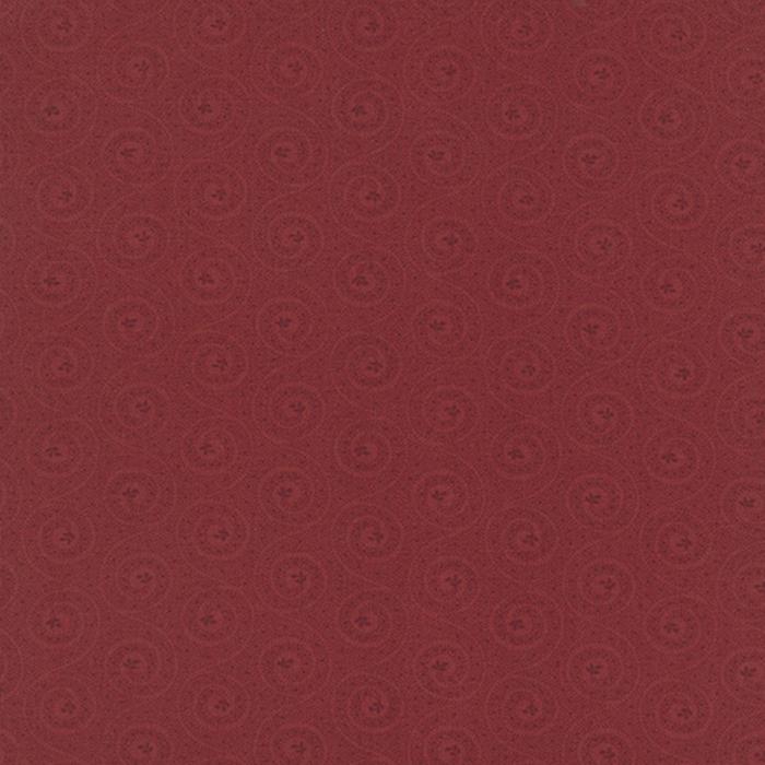MODA BEES N BLOOM KANSAS TROUBLES DARK RED WITH SWIRLS 9496 23