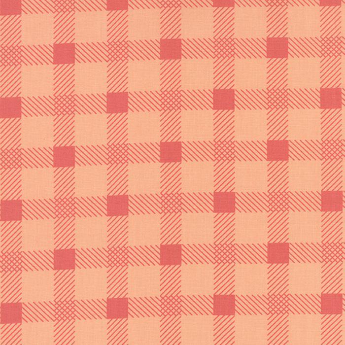 Little Miss Sunshine 5023-13 Peach Plaid Moda Fabrics