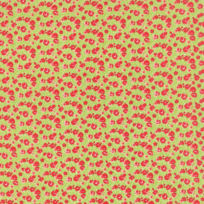 Item#9549 - Little Ruby Green - Moda - Bonnie & Camille - Bolt# 9549
