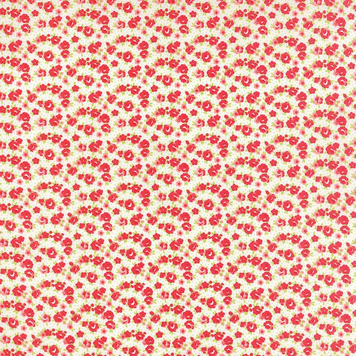 Item#9550 - Little Ruby Cream - Moda - Bonnie & Camille - Bolt# 9550